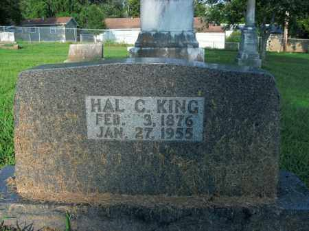 KING, HAL C. - Boone County, Arkansas | HAL C. KING - Arkansas Gravestone Photos