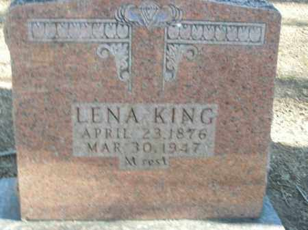 KING, LENA - Boone County, Arkansas | LENA KING - Arkansas Gravestone Photos