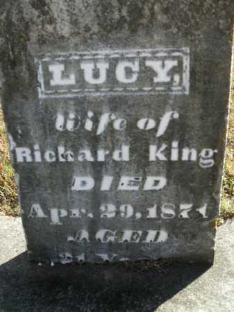 KING, LUCY - Boone County, Arkansas   LUCY KING - Arkansas Gravestone Photos