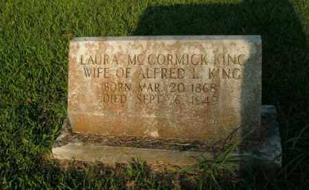 MCCORMICK KING, LAURA - Boone County, Arkansas | LAURA MCCORMICK KING - Arkansas Gravestone Photos
