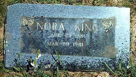CANTRELL KING, NORA - Boone County, Arkansas | NORA CANTRELL KING - Arkansas Gravestone Photos