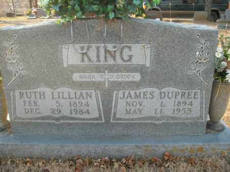 KING, RUTH LILLIAN - Boone County, Arkansas | RUTH LILLIAN KING - Arkansas Gravestone Photos