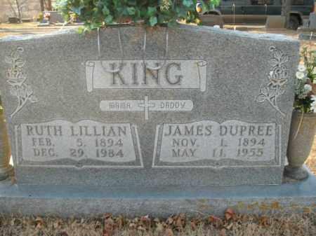 KING, JAMES DUPREE - Boone County, Arkansas | JAMES DUPREE KING - Arkansas Gravestone Photos