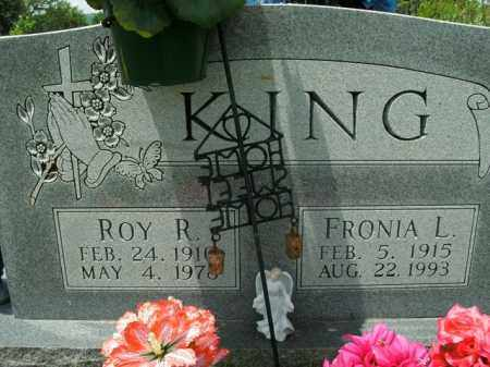 KING, ROY R. - Boone County, Arkansas | ROY R. KING - Arkansas Gravestone Photos