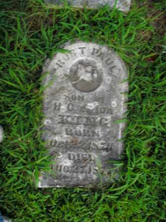 KING, ROBERT PAUL - Boone County, Arkansas | ROBERT PAUL KING - Arkansas Gravestone Photos