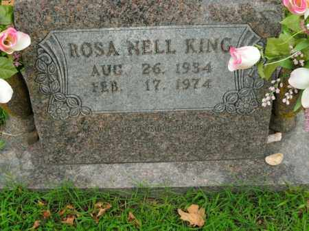 KING, ROSA NELL - Boone County, Arkansas | ROSA NELL KING - Arkansas Gravestone Photos