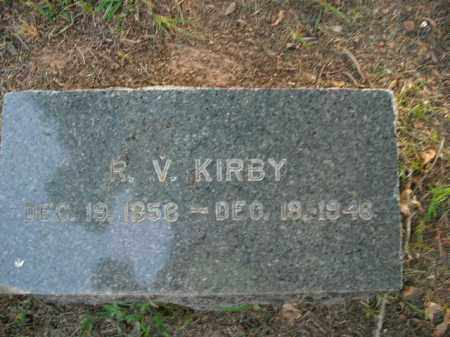 KIRBY, RHODA VIRGINIA - Boone County, Arkansas | RHODA VIRGINIA KIRBY - Arkansas Gravestone Photos