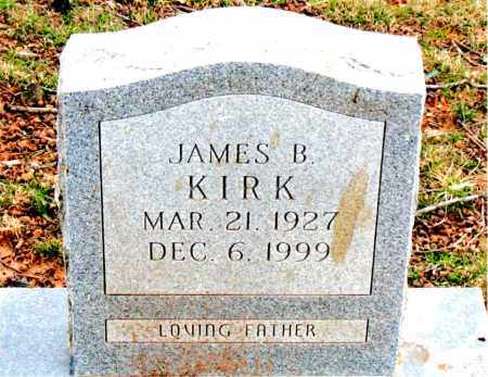 KIRK, JAMES  B. - Boone County, Arkansas | JAMES  B. KIRK - Arkansas Gravestone Photos