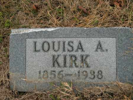 KIRK, LOUISA A. - Boone County, Arkansas | LOUISA A. KIRK - Arkansas Gravestone Photos