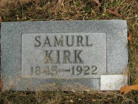 KIRK, SAMUEL - Boone County, Arkansas | SAMUEL KIRK - Arkansas Gravestone Photos