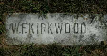 KIRKWOOD, WILLIAM FRANK - Boone County, Arkansas | WILLIAM FRANK KIRKWOOD - Arkansas Gravestone Photos