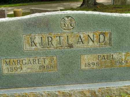 KIRTLAND, MARGARET P. - Boone County, Arkansas | MARGARET P. KIRTLAND - Arkansas Gravestone Photos