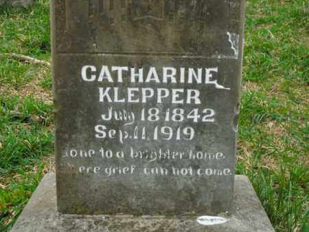 KLEPPER, CATHARINE - Boone County, Arkansas | CATHARINE KLEPPER - Arkansas Gravestone Photos