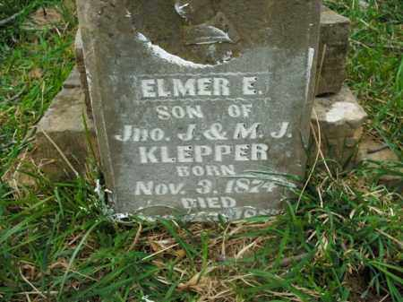 KLEPPER, ELMER E. - Boone County, Arkansas | ELMER E. KLEPPER - Arkansas Gravestone Photos
