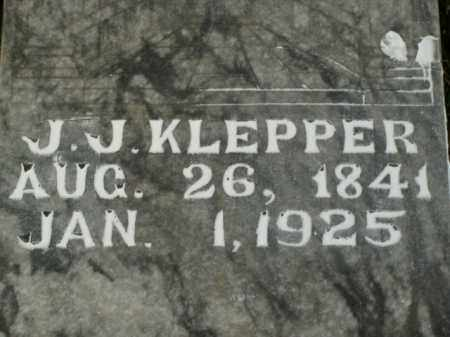 KLEPPER, JOHN J. - Boone County, Arkansas | JOHN J. KLEPPER - Arkansas Gravestone Photos