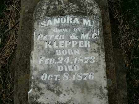 KLEPPER, SANORA M. - Boone County, Arkansas | SANORA M. KLEPPER - Arkansas Gravestone Photos