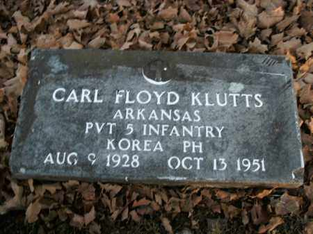 KLUTTS  (VETERAN KOR), CARL FLOYD - Boone County, Arkansas | CARL FLOYD KLUTTS  (VETERAN KOR) - Arkansas Gravestone Photos