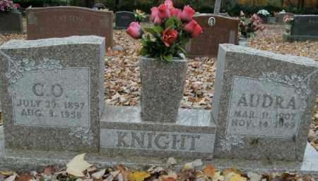 KNIGHT, AUDRA - Boone County, Arkansas | AUDRA KNIGHT - Arkansas Gravestone Photos