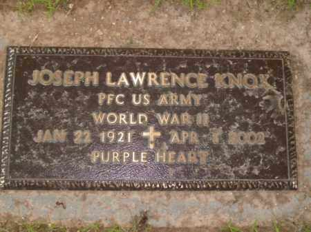 KNOX  (VETERAN WWII), JOSEPH LAWRENCE - Boone County, Arkansas | JOSEPH LAWRENCE KNOX  (VETERAN WWII) - Arkansas Gravestone Photos