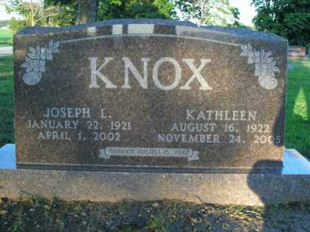 KNOX, JOSEPH L. - Boone County, Arkansas | JOSEPH L. KNOX - Arkansas Gravestone Photos