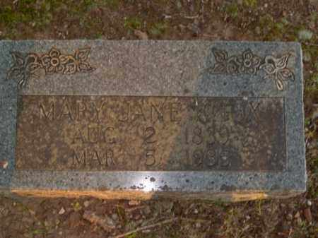 KNOX, MARY JANE - Boone County, Arkansas | MARY JANE KNOX - Arkansas Gravestone Photos