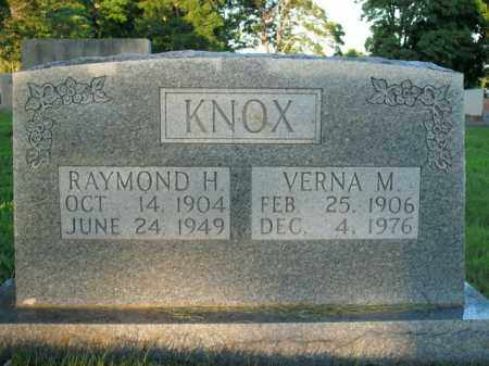 KNOX, RAYMOND H. - Boone County, Arkansas | RAYMOND H. KNOX - Arkansas Gravestone Photos