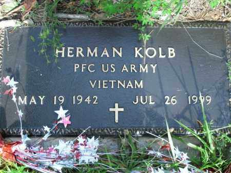 KOLB  (VETERAN VIET), HERMAN - Boone County, Arkansas | HERMAN KOLB  (VETERAN VIET) - Arkansas Gravestone Photos