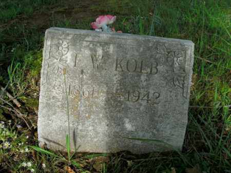 KOLB, F. W. - Boone County, Arkansas | F. W. KOLB - Arkansas Gravestone Photos