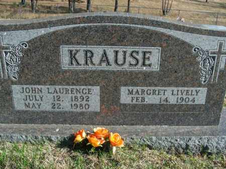 KRAUSE, JOHN LAURENCE - Boone County, Arkansas | JOHN LAURENCE KRAUSE - Arkansas Gravestone Photos