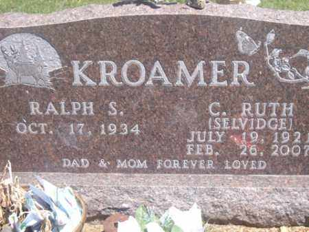 SELVIDGE KROAMER, C. RUTH - Boone County, Arkansas | C. RUTH SELVIDGE KROAMER - Arkansas Gravestone Photos