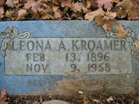 KROAMER, LEONA A. - Boone County, Arkansas | LEONA A. KROAMER - Arkansas Gravestone Photos