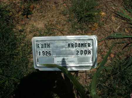 KROAMER, RUTH - Boone County, Arkansas | RUTH KROAMER - Arkansas Gravestone Photos