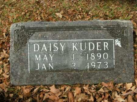 KUDER, DAISY - Boone County, Arkansas   DAISY KUDER - Arkansas Gravestone Photos