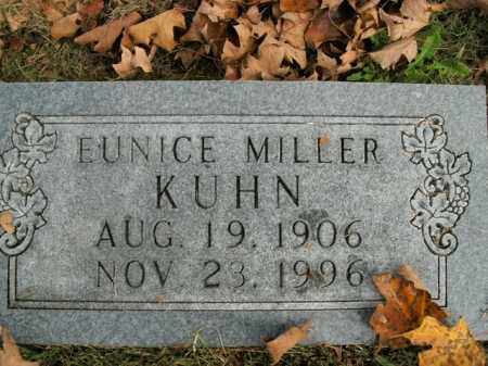 KUHN, EUNICE - Boone County, Arkansas | EUNICE KUHN - Arkansas Gravestone Photos