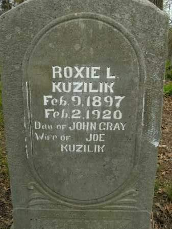 GRAY KUZILIK, ROXIE L. - Boone County, Arkansas | ROXIE L. GRAY KUZILIK - Arkansas Gravestone Photos