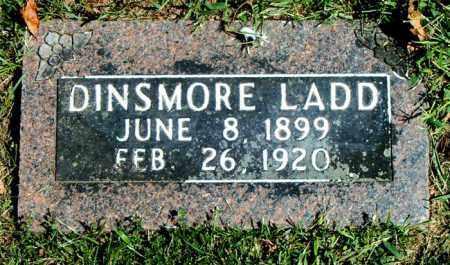 LADD, DINSMORE - Boone County, Arkansas | DINSMORE LADD - Arkansas Gravestone Photos