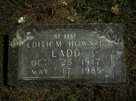 HOWARD LADD, EDITH M. - Boone County, Arkansas | EDITH M. HOWARD LADD - Arkansas Gravestone Photos