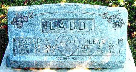 LADD, PLEASANT EASLY - Boone County, Arkansas | PLEASANT EASLY LADD - Arkansas Gravestone Photos