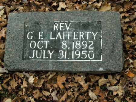 LAFFERTY, GASTON ERVIN (REV) - Boone County, Arkansas | GASTON ERVIN (REV) LAFFERTY - Arkansas Gravestone Photos