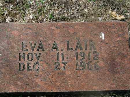 LAIR, EVA A. - Boone County, Arkansas | EVA A. LAIR - Arkansas Gravestone Photos