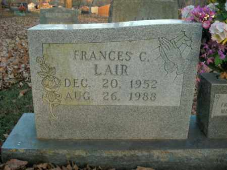 LAIR, FRANCES C. - Boone County, Arkansas | FRANCES C. LAIR - Arkansas Gravestone Photos