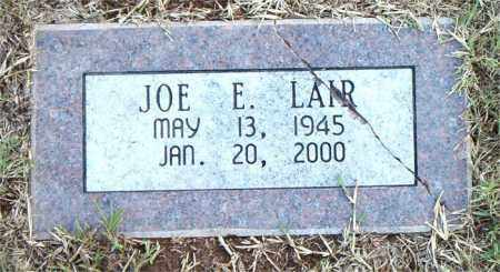 LAIR, JOE  E. - Boone County, Arkansas | JOE  E. LAIR - Arkansas Gravestone Photos