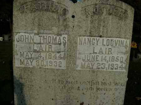 LAIR, JOHN THOMAS - Boone County, Arkansas | JOHN THOMAS LAIR - Arkansas Gravestone Photos