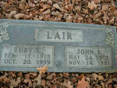 LAIR, RUBY L. - Boone County, Arkansas | RUBY L. LAIR - Arkansas Gravestone Photos