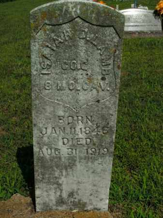 LAMB  (VETERAN UNION), ISAIAH D. - Boone County, Arkansas | ISAIAH D. LAMB  (VETERAN UNION) - Arkansas Gravestone Photos