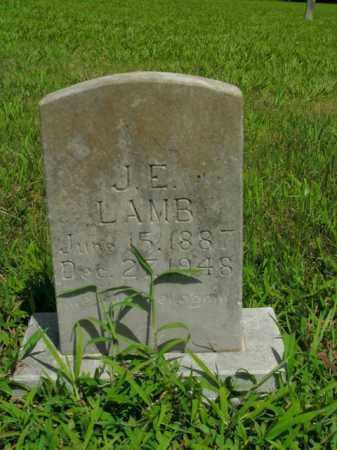 LAMB, J. E. - Boone County, Arkansas | J. E. LAMB - Arkansas Gravestone Photos