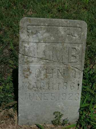 LAMB, JOHN T. - Boone County, Arkansas | JOHN T. LAMB - Arkansas Gravestone Photos