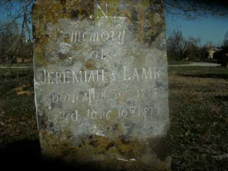 LAMB, JEREMIAH - Boone County, Arkansas | JEREMIAH LAMB - Arkansas Gravestone Photos