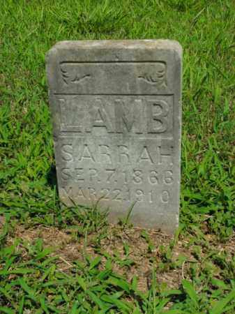 LAMB, SARRAH - Boone County, Arkansas | SARRAH LAMB - Arkansas Gravestone Photos