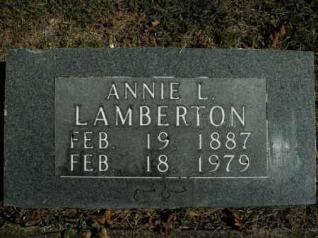 LAMBERTON, ANNIE L. - Boone County, Arkansas | ANNIE L. LAMBERTON - Arkansas Gravestone Photos
